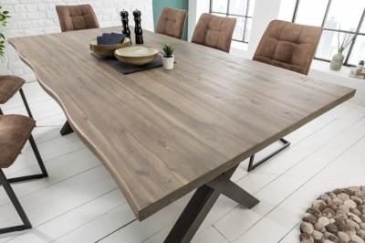 Designový jídelní stůl Evolution Grey 160 cm akácie