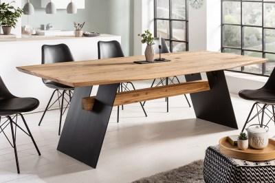 Designový jídelní stůl Galeno 200 cm divý dub