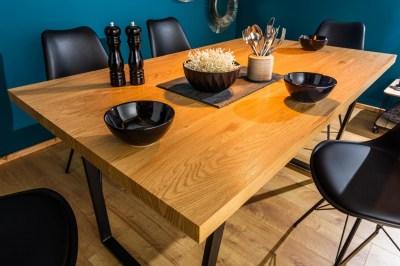 Designový jídelní stůl Giuliana 140 cm dub