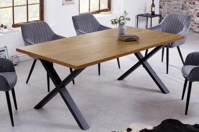 Designový jídelní stůl Giuliana X 160 cm dub