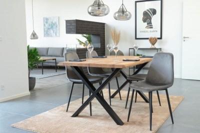 Designový jídelní stůl Jonathon 140 cm přírodní dub