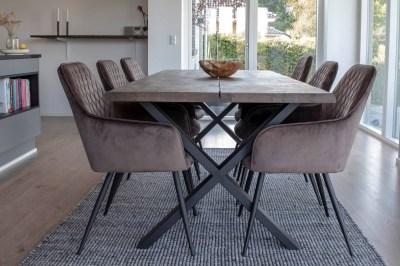 Designový jídelní stůl Jonathon 200 cm kouřový dub