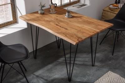 Designový jídelní stůl Massive 120 cm tloušťka 26 mm akácie