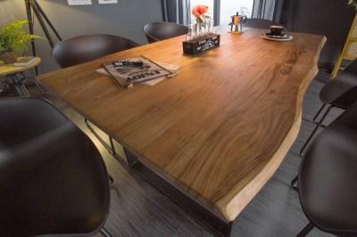 Designový jídelní stůl Massive 140 cm divoká akácie
