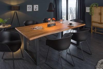 Designový jídelní stůl Massive 180 cm tloušťka 35 mm akácie