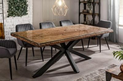 Designový jídelní stůl Shark 200 cm přírodní