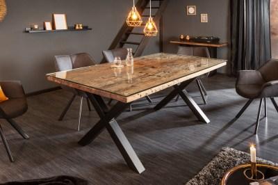 Designový jídelní stůl Shark X 180 cm přírodní