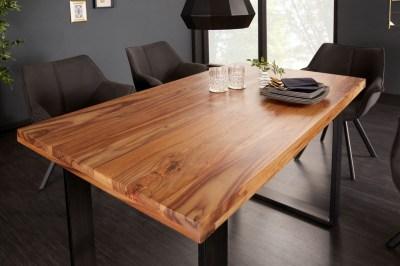 Designový jídelní stůl Thunder 120 cm sheesham