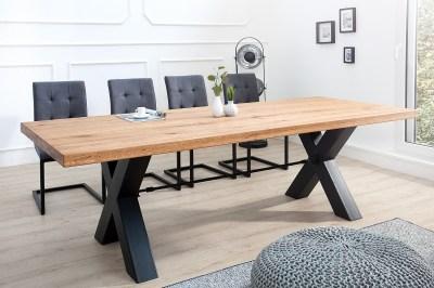 Designový jídelní stůl Thunder 200 cm divý dub