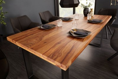 Designový jídelní stůl Thunder 200 cm sheesham