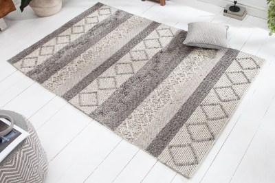 Designový koberec Rebecca 240 x 160 cm šedý