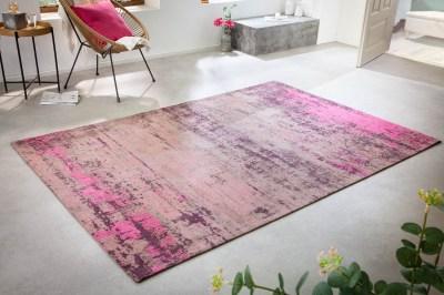Designový koberec Rowan 240 x 160 cm béžovo-růžový