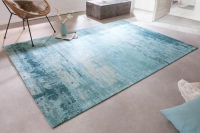 Designový koberec Rowan 240 x 160 cm tyrkysově-béžový