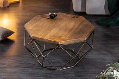 Designový konferenční stolek Acantha 70 cm mango