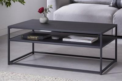 Designový konferenční stolek Damaris 100 cm černý