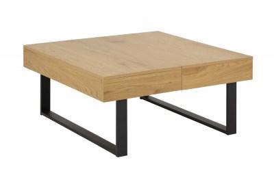 Designový konferenční stolek Danyl 80 cm divoký dub