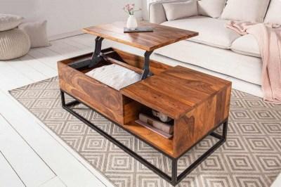 Designový konferenční stolek Timber Function 110 cm sheesham