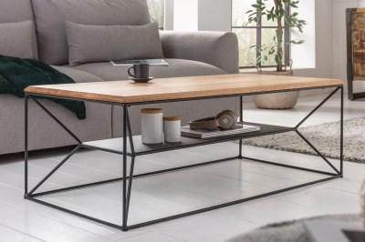 Designový konferenční stolek Haines 110 cm dub