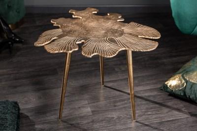 Designový konferenční stolek Lance 57 cm zlatý