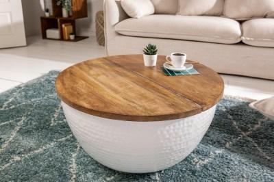 Designový konferenční stolek Malia Orient bílý
