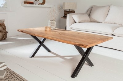 Designový konferenční stolek Massive X 118 cm akácie