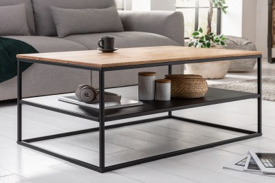 Designový konferenční stolek Nathalie 95 cm dub