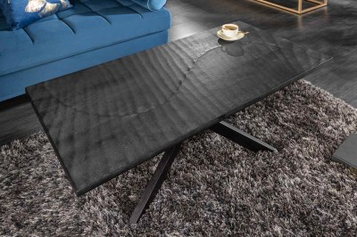 Designový konferenční stolek Shayla 110 cm černý - mango