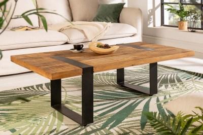 Designový konferenční stolek Thunder 120 cm mango
