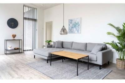 Designový konferenční stolek Willie 110 cm přírodní dub