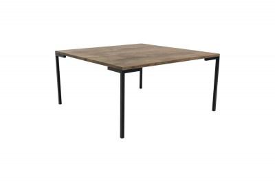 Designový konferenční stolek Willie 90 cm kouřový dub