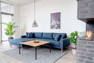 Designový konferenční stolek Willie 90 cm přírodní dub