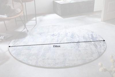 designovy-kulaty-koberec-rowan-150-cm-bezovo-modry-6