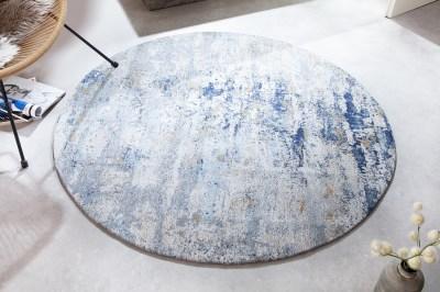 designovy-kulaty-koberec-rowan-150-cm-bezovo-modry