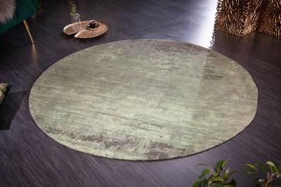 designovy-kulaty-koberec-rowan-150-cm-zeleno-bezovy-1