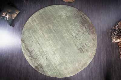 designovy-kulaty-koberec-rowan-150-cm-zeleno-bezovy-2