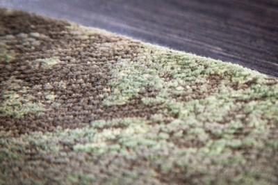 designovy-kulaty-koberec-rowan-150-cm-zeleno-bezovy-3