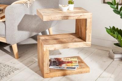 Designový odkládací stolek Ari S 60 cm Mango