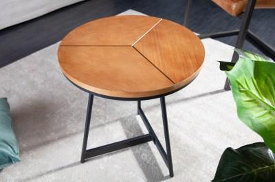 Designový odkládací stolek Faxon 45 cm imitace dub