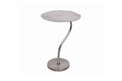 Designový odkládací stolek Lance 42 cm stříbrný