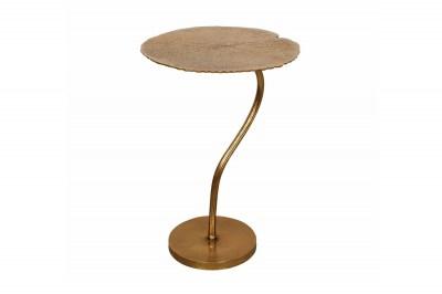 Designový odkládací stolek Lance 42 cm zlatý