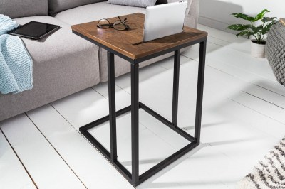 Designový odkládací stolek Factor Tablet 43 cm dub