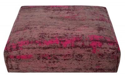Designový podlahový polštář Rowan 70 cm červeno-růžový