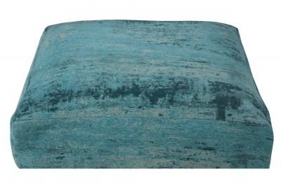 Designový podlahový polštář Rowan 70 cm tyrkysový