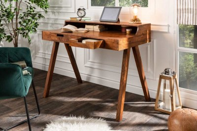 Designový psací stůl Freddo 100 cm akácie