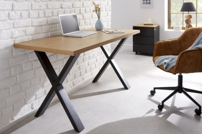 Designový psací stůl Giuliana X 140 cm dub