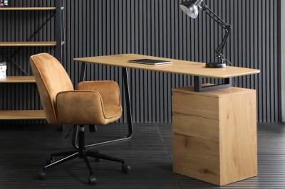 Designový psací stůl Kiana 160 cm vzor dub