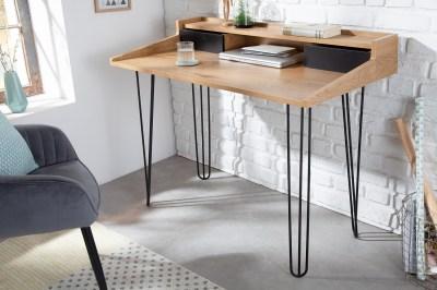 Designový psací stůl Kiana II 110 cm vzor dub