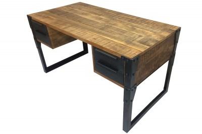 Designový psací stůl Unity 135 cm mango