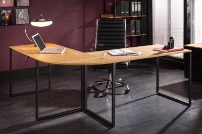 Designový rohový psací stůl Boss 180 cm dub