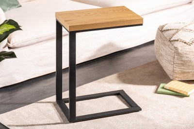 Designový stůl na notebook Giuliana 45 cm imitace dub